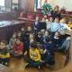 I bambini della scuola dell'infanzia delle Gianelline in visita al Sindaco di Piacenza