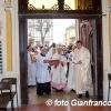 Mons. Ambrosio in visita pastorale a Roveleto di Cadeo